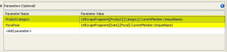 Figure 7 - Supply Report Parameters