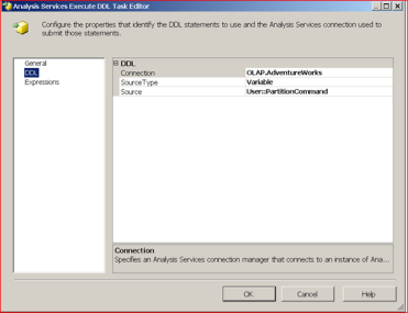 SSIS: Creating Dynamic Data-driven SSAS Partitions – Benny